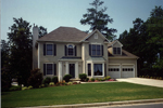 Early American House Plan Front Photo 02 - 052D-0153 | House Plans and More