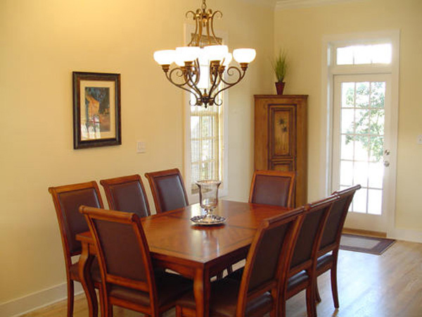 Vacation Home Plan Dining Room Photo 01 052D-0154