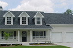 Country House Plan Front Photo 01 - 053D-0001 | House Plans and More