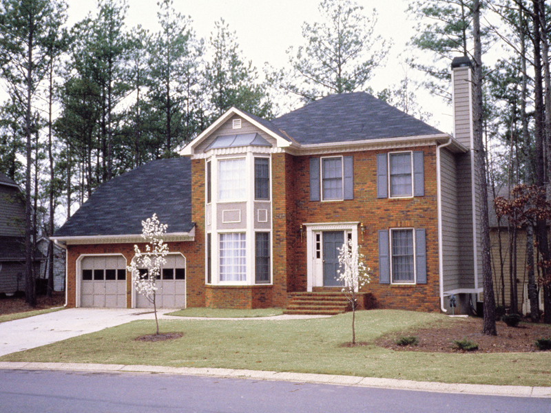 Traditional House Plan Front of Home 053D-0003