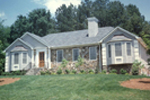 Ranch House Plan Front Photo 01 - 053D-0005 | House Plans and More