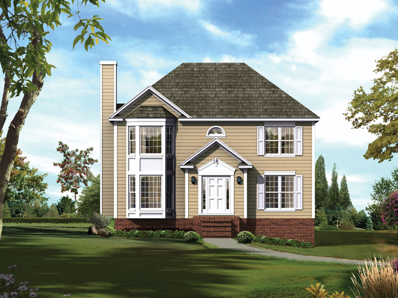 Bay House Plans ravenwood traditional home plan 053d-0008 | house plans and more