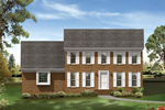 Colonial Floor Plan Front Image - 053D-0010 | House Plans and More