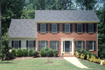 Colonial Floor Plan Front Photo 01 - 053D-0010 | House Plans and More