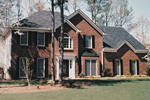 Traditional Brick Two-Story With Luxurious Style