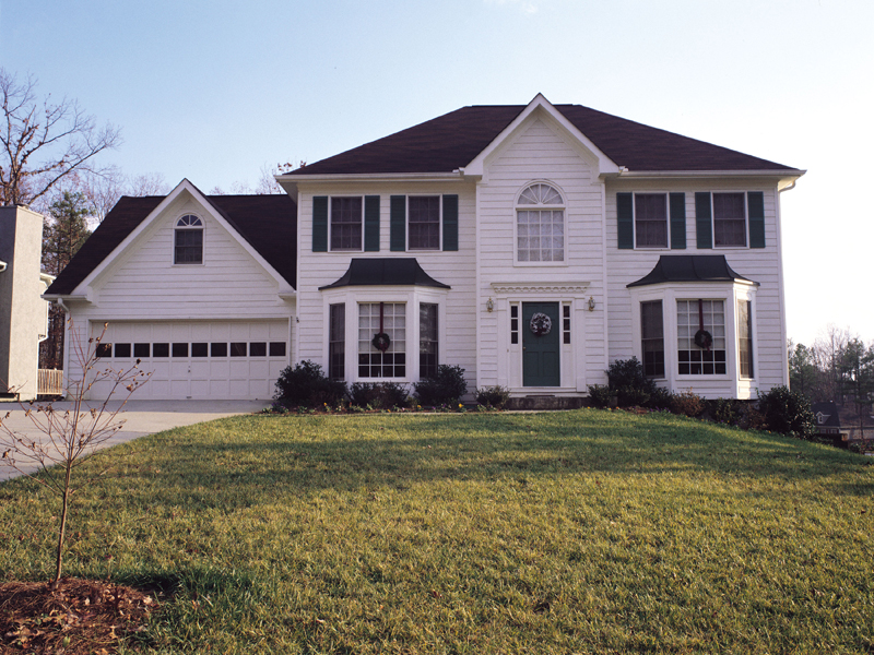 Traditional House Plan Front of Home 053D-0020