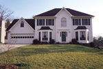 Colonial Floor Plan Front of Home - 053D-0020 | House Plans and More