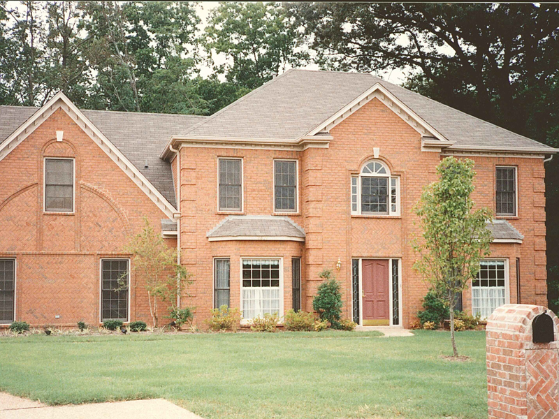Colonial Floor Plan Front Photo 01 053D-0020