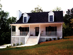 Cabin & Cottage House Plan Front Photo 02 - 053D-0030 | House Plans and More