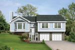 Ranch House Plan Front of Home - 053D-0032 | House Plans and More