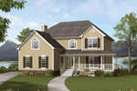 Farmhouse Plan Front Photo 01 - 053D-0033 | House Plans and More