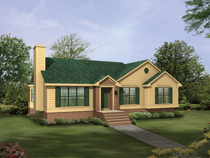 Hillsboro Traditional Home Plan 053D 0036