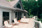 Traditional House Plan Rear Porch Photo - 053D-0043 | House Plans and More