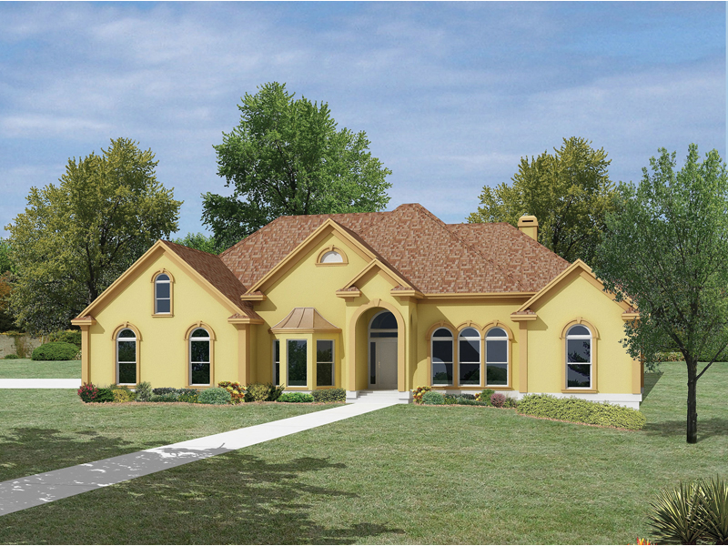 Lafayette Sunbelt Ranch Home Plan 053d 0050 House Plans