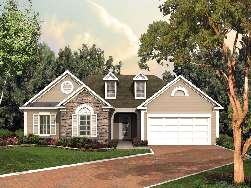 Bakersville Ranch Home Plan 053d 0053 House Plans And More