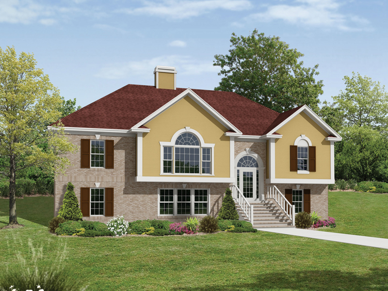 Traditional House Plan Front Image 053D-0055