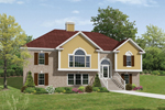 Traditional House Plan Front Image - 053D-0055 | House Plans and More