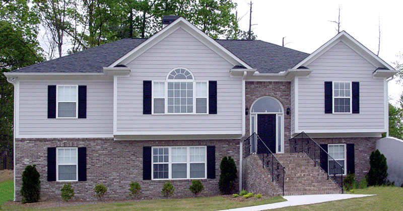 Traditional House Plan Front of Home 053D-0055