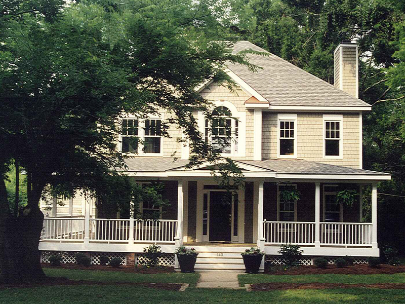 House plans and design house plans two story porches for Country and farmhouse home plans