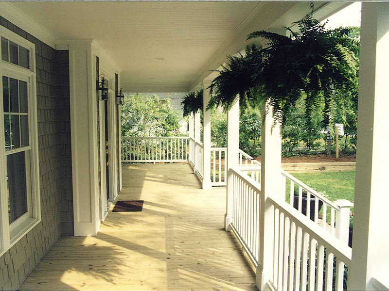 Lowcountry Home Plan Front Porch Photo 053D-0056