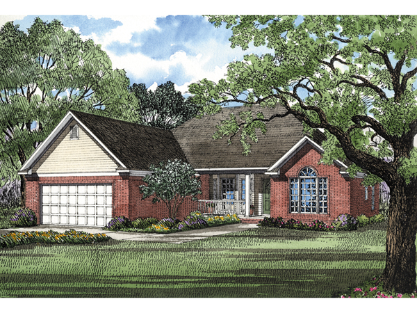 Brisbane Bay Ranch Home Plan 055d 0026 House Plans And More