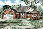 Traditional House Plan Front Image - 055D-0033 | House Plans and More