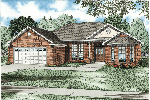 Traditional House Plan Front Image - 055D-0034 | House Plans and More
