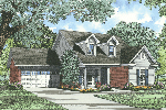 Traditional Ranch Home With Siding Exterior And Front Loading Garage
