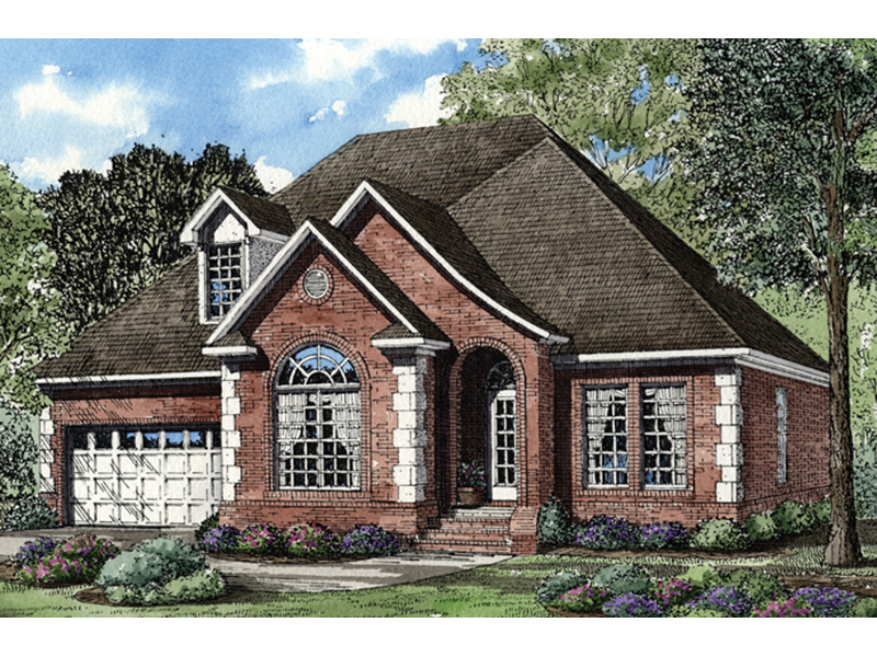 Cabin & Cottage House Plan Front Image - 055D-0044 | House Plans and More