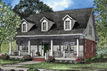 Greek Revival House Plan Front Image - 055D-0045 | House Plans and More