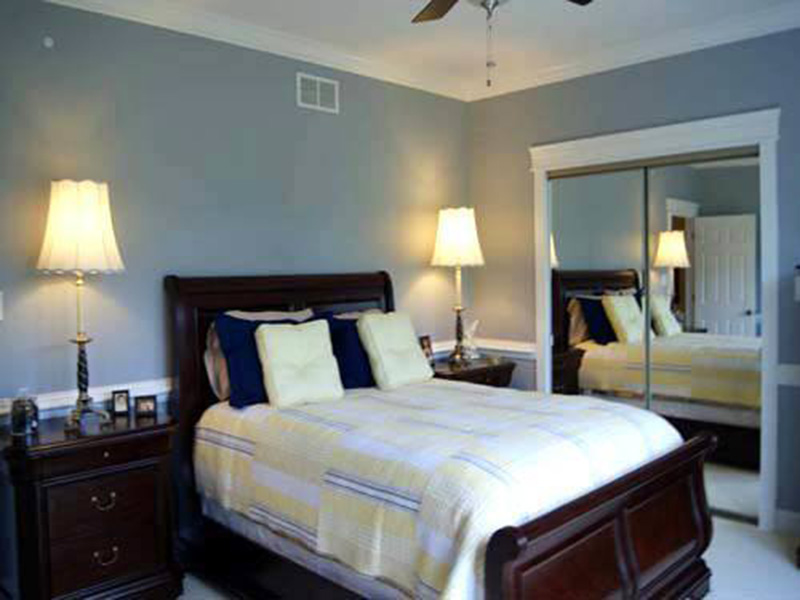 Ranch House Plan Bedroom Photo 03 - 055D-0054 | House Plans and More