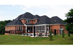 Ranch House Plan Rear Photo 01 - 055D-0054 | House Plans and More