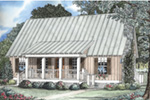 Cabin & Cottage House Plan Front Image - 055D-0068 | House Plans and More