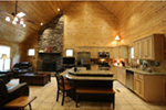 Cabin & Cottage House Plan Kitchen Photo 01 - 055D-0068 | House Plans and More