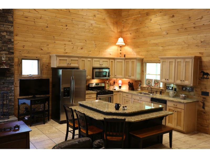 Cabin & Cottage House Plan Kitchen Photo 03 - 055D-0068 | House Plans and More