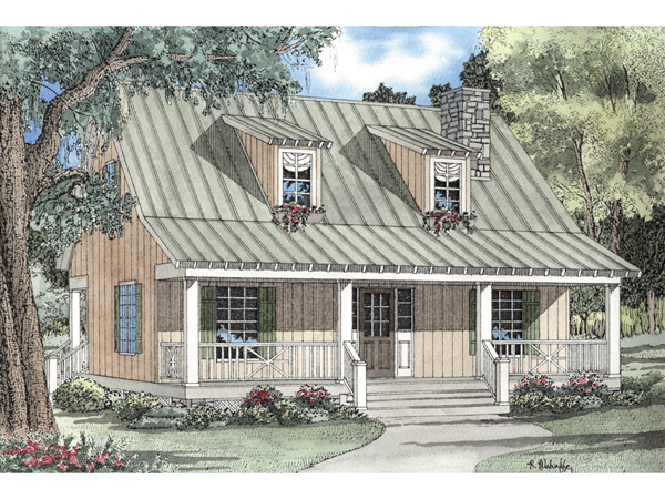 Elderberry Cozy Cabin Home Plan 055d 0069 House Plans