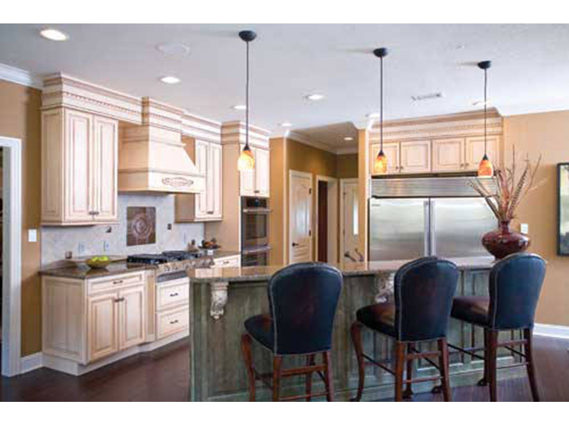 Multi-Family House Plan Kitchen Photo 01 - 055D-0077 | House Plans and More