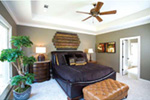 Ranch House Plan Master Bedroom Photo 01 - 055D-0077 | House Plans and More