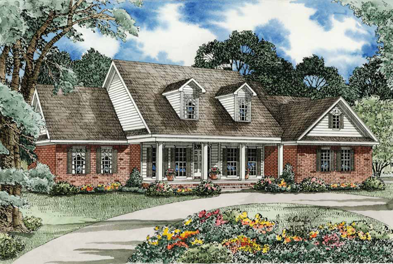 Country Style Home With Cape Cod Influence