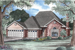 European House Plan Front Image - 055D-0127 | House Plans and More