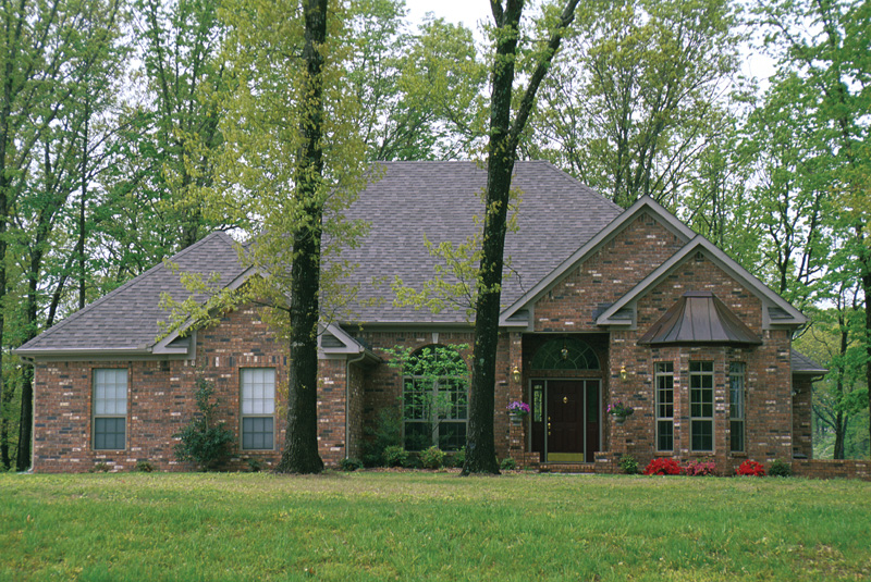 European House Plan Front Photo 01 055D-0137