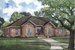 Gabled Home With Traditional Brick Design