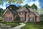 Traditional Brick Two-Story With Elegant Appeal
