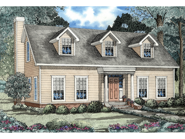Elbring new england style home plan 055d 0155 house for New england house plans