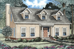 Cape Cod/ New England Style Home With Triple Dormers