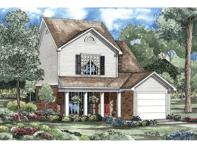 Southern House Plan Front of Home - 055D-0165 | House Plans and More