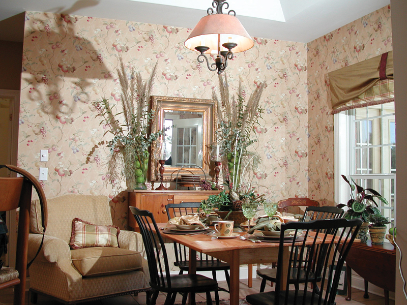 Colonial Floor Plan Dining Room Photo 01 055D-0174
