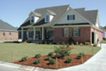 Colonial House Plan Front Photo 01 - 055D-0174 | House Plans and More