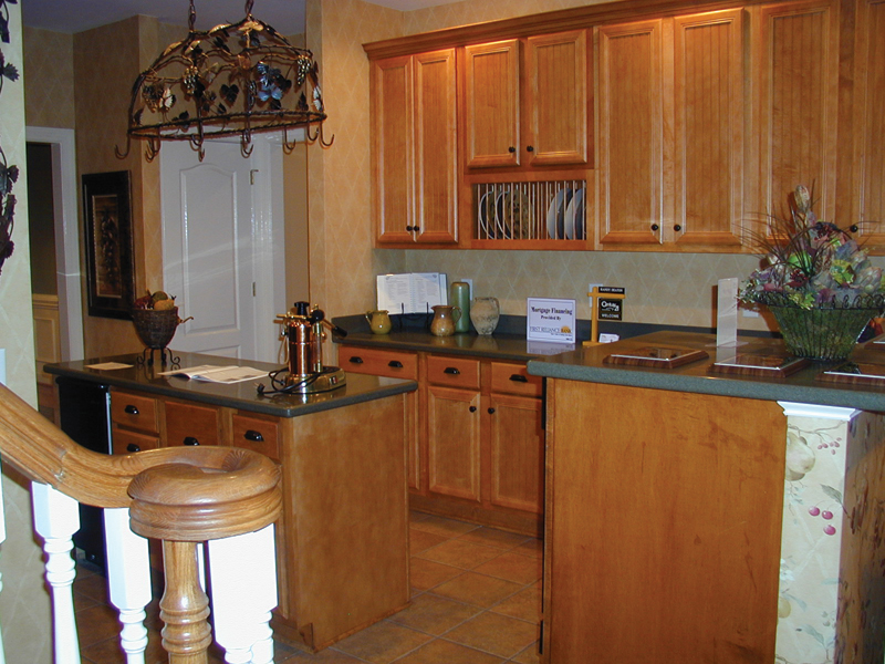Southern House Plan Kitchen Photo 03 055D-0174