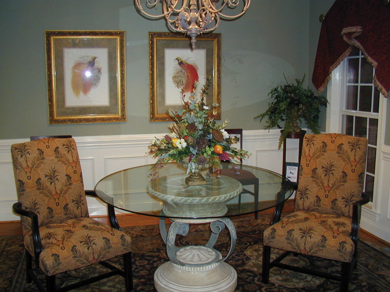 Colonial Floor Plan Living Room Photo 02 055D-0174